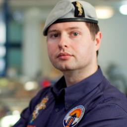 Major Oli Morgan is the Team Leader for the Army's involvement in the Bloodhound SuperSonic Car project
