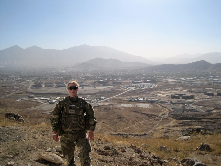 The scenery in Kabul was amazing. One place I won't forget.