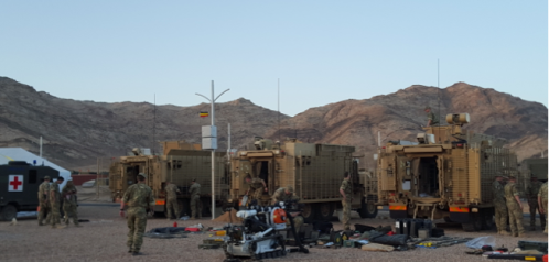 Read related blog: https://britisharmyblog.wordpress.com/2016/07/07/week-12-sand-bombs-and-robots